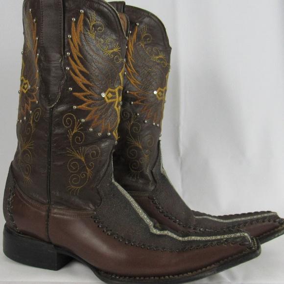 4d7d5b73ec8 🇲🇽 El General stingray handmade cowboy boots